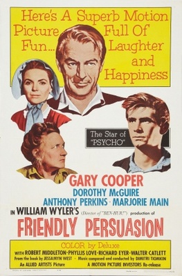 Friendly Persuasion movie poster (1956) poster MOV_dd3751a1