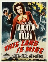 This Land Is Mine movie poster (1943) picture MOV_dd4973a8