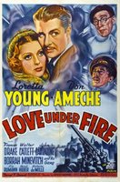 Love Under Fire movie poster (1937) picture MOV_dd507b94