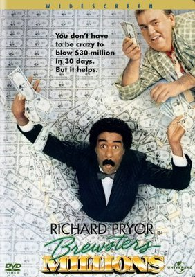 Brewster's Millions movie poster (1985) poster MOV_dd636f80