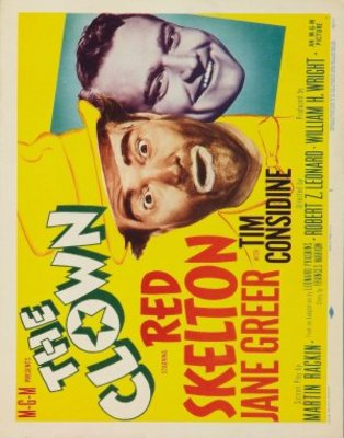 The Clown movie poster (1953) poster MOV_dd78455a