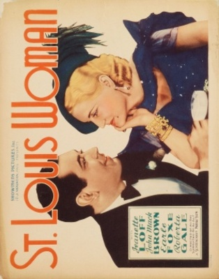 St. Louis Woman movie poster (1934) poster MOV_dd9d1b2b