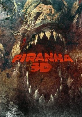 Piranha movie poster (2010) poster MOV_dd9e2aaf