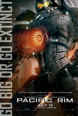 Pacific Rim movie poster (2013) poster MOV_ddc49617