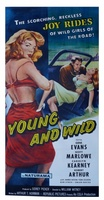 Young and Wild movie poster (1958) picture MOV_dde26852