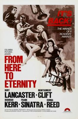 From Here to Eternity movie poster (1953) poster MOV_ddfcfe4e