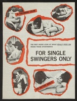 For Single Swingers Only movie poster (1968) picture MOV_de033516