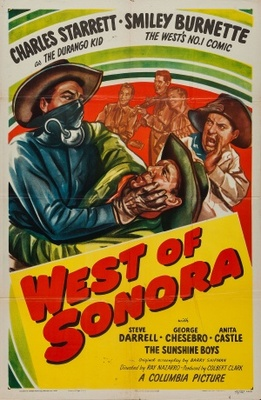 West of Sonora movie poster (1948) poster MOV_de12df33