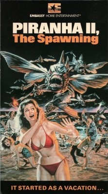 Piranha Part Two: The Spawning movie poster (1981) poster MOV_de16446c