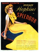 Splendor movie poster (1935) picture MOV_de301172
