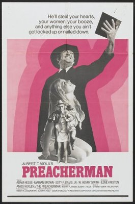 Preacherman movie poster (1971) poster MOV_de3ae32a