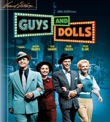 Guys and Dolls movie poster (1955) poster MOV_de498e4b