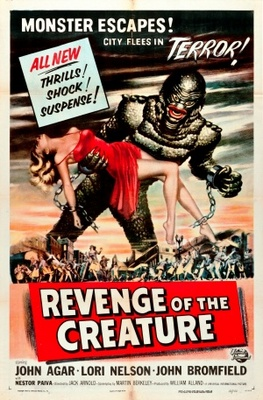 Revenge of the Creature movie poster (1955) poster MOV_de634195