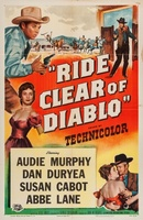 Ride Clear of Diablo movie poster (1954) picture MOV_de6ea629