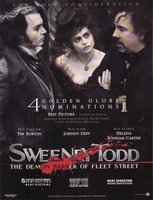 Sweeney Todd: The Demon Barber of Fleet Street movie poster (2007) picture MOV_de6fa278