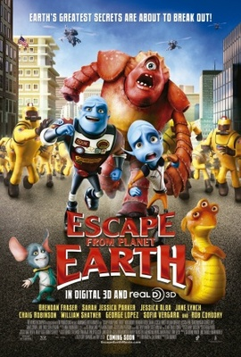 Escape from Planet Earth movie poster (2013) poster MOV_de78fbfe