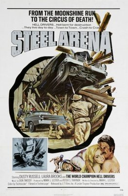 Steel Arena movie poster (1973) poster MOV_de868fb9