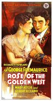 Rose of the Golden West movie poster (1927) picture MOV_dea4e942