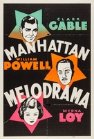 Manhattan Melodrama movie poster (1934) picture MOV_deabbcdc