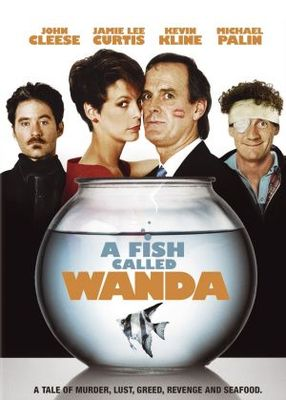 A Fish Called Wanda movie poster (1988) poster MOV_deb83f8d