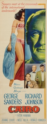 Cairo movie poster (1963) poster MOV_dee10c95