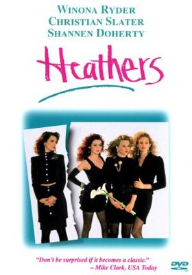 Heathers movie poster (1989) poster MOV_dee60882