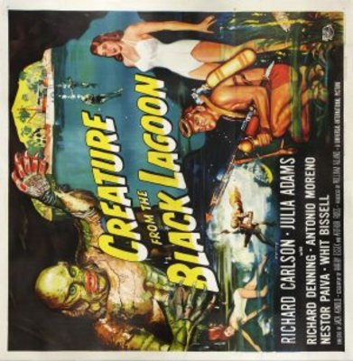Creature from the Black Lagoon movie poster (1954) poster MOV_dee80d67