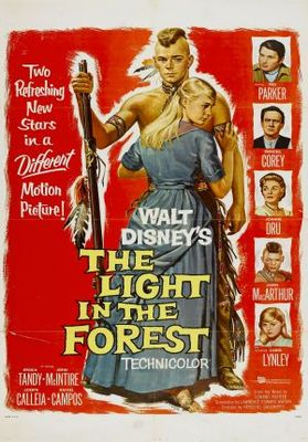 The Light in the Forest movie poster (1958) poster MOV_df39c67d
