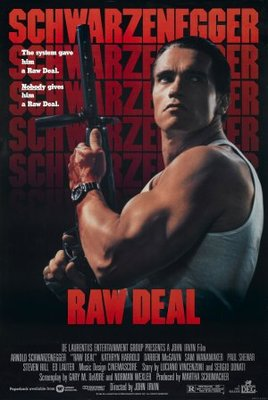 Raw Deal movie poster (1986) poster MOV_df41c6a6