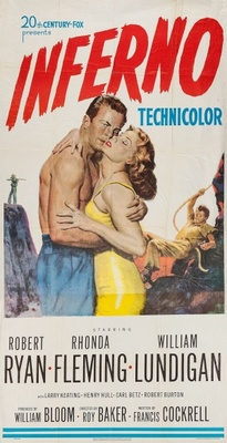 Inferno movie poster (1953) poster MOV_df5a4e0f