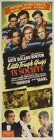 Little Tough Guys in Society movie poster (1938) picture MOV_df80bbe7