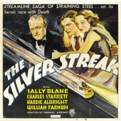 The Silver Streak movie poster (1934) poster MOV_dfa25681