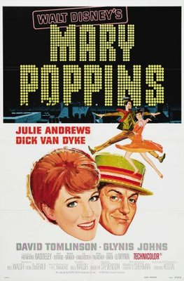 Mary Poppins movie poster (1964) poster MOV_dfb8a473
