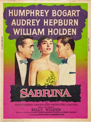 Sabrina movie poster (1954) poster MOV_dfcc7ad0