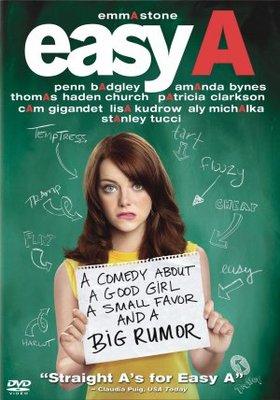 Easy A movie poster (2010) Poster. Buy Easy A movie poster (2010 ...