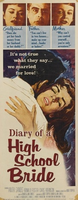 Diary of a High School Bride movie poster (1959) poster MOV_dfd4ed98