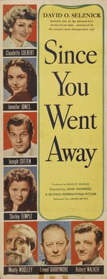 Since You Went Away movie poster (1944) poster MOV_dfd76d07