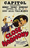 Close Harmony movie poster (1929) picture MOV_dff311ea