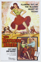 The Restless Breed movie poster (1957) picture MOV_dhtageld