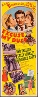 Excuse My Dust movie poster (1951) picture MOV_dreeh8g3