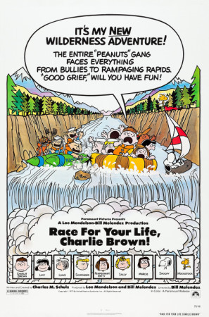 Race for Your Life, Charlie Brown movie poster (1977) poster MOV_dwbbw6vl
