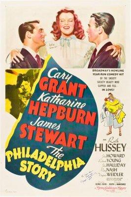 The Philadelphia Story movie poster (1940) poster MOV_e0011736