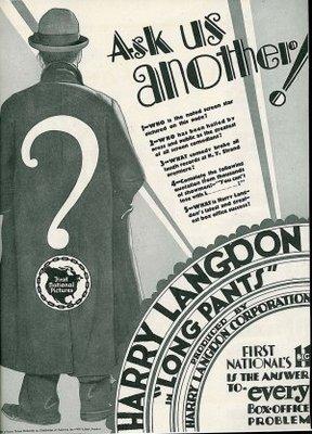 Long Pants movie poster (1927) poster MOV_e00da279
