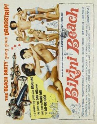 Bikini Beach movie poster (1964) poster MOV_e037a559