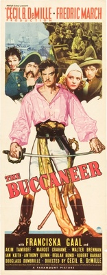 The Buccaneer movie poster (1938) poster MOV_e04153ac