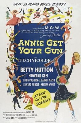 Annie Get Your Gun movie poster (1950) poster MOV_e068dcad