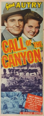 Call of the Canyon movie poster (1942) poster MOV_e06aaa32
