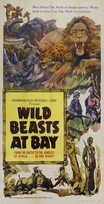Wild Beasts at Bay movie poster (1947) poster MOV_e07da1c6