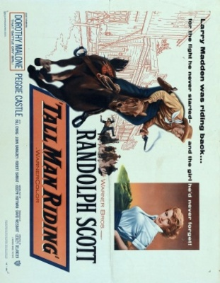 Tall Man Riding movie poster (1955) poster MOV_e085188b