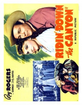 Ridin' Down the Canyon movie poster (1942) poster MOV_e08d2a26
